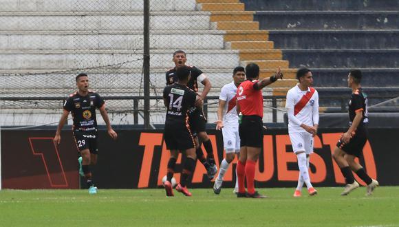 Minzum Quina anotó el gol del triunfo para Ayacucho FC. (Foto: Liga 1)