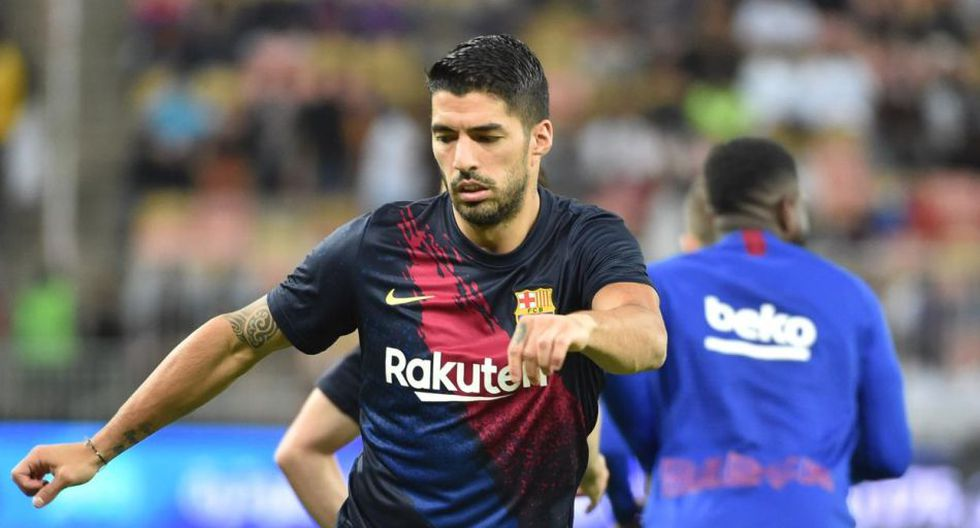 Luis Suárez llegó al Barcelona en la temporada 2014. (Getty)