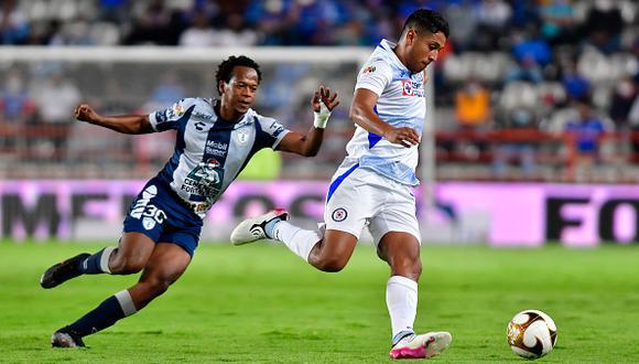 Cruz Azul vs. Pachuca se vieron las caras este miércoles por semis de la Liguilla MX 2021 (Foto: Getty Images)