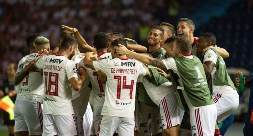 Flamengo derrotó a Junior en Barranquilla por el Grupo A de Copa Libertadores 2020.