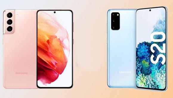 ¿En qué se diferencian el Samsung Galaxy S21 con el Galaxy S20? Conócelo ahora mismo. (Foto: Samsung)