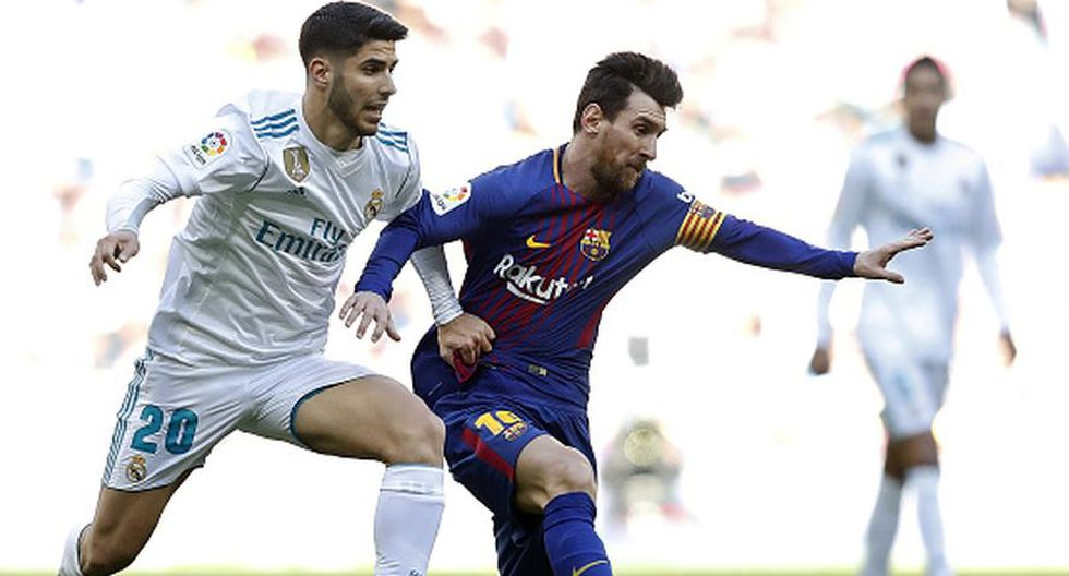 Asensio se perderá, al menos el resto del año; mientras que Messi es duda para la primera fecha. (Getty Images)
