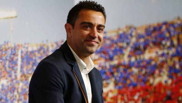 Xavi Hernández renovó con el Al Sadd, pero con cláusula en favor del Barcelona (Foto: EFE)