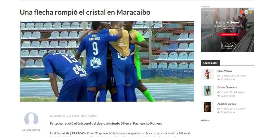 Sporting Cristal vs. Zulia FC |
