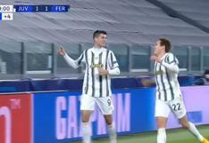 Morata no perdonó tras asistencia de Cuadrado: el gol agónico para triunfo de Juventus [VIDEO]