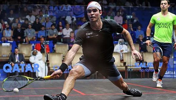 Diego Elías es el actual número seis del mundo. (Foto: IGMA Sports)