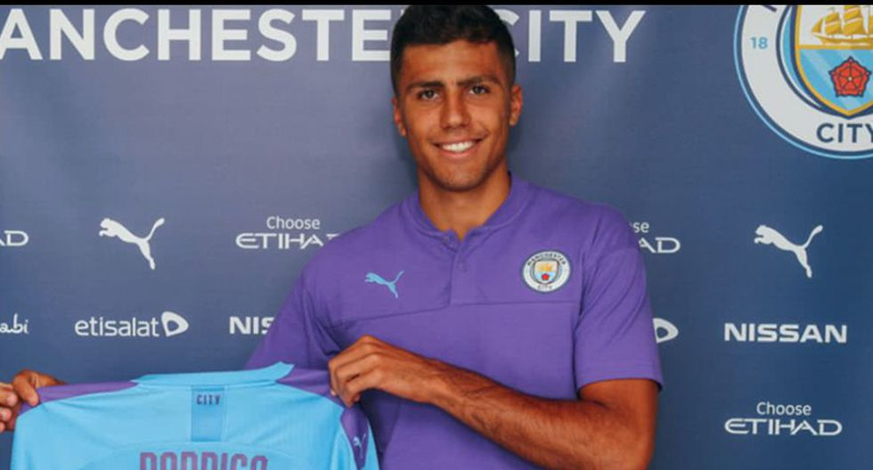 Rodrigo Hernández (70 millones) - Manchester City