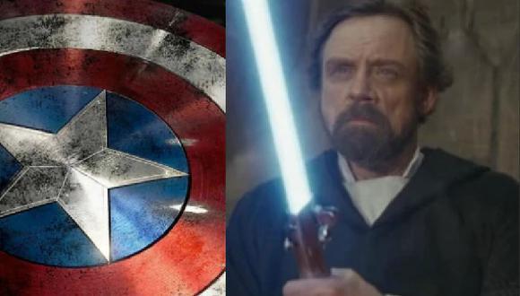 ¿El sable de luz de Star Wars puede  romper el escudo de Capitán América? Mark Hamill dio a conocer su opinión