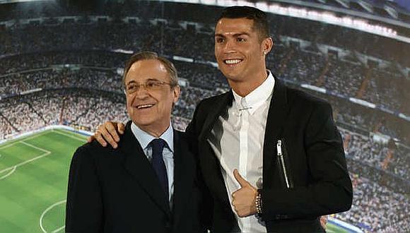 Cristiano Ronaldo ganó cuatro Champions League con Real Madrid. (AFP)