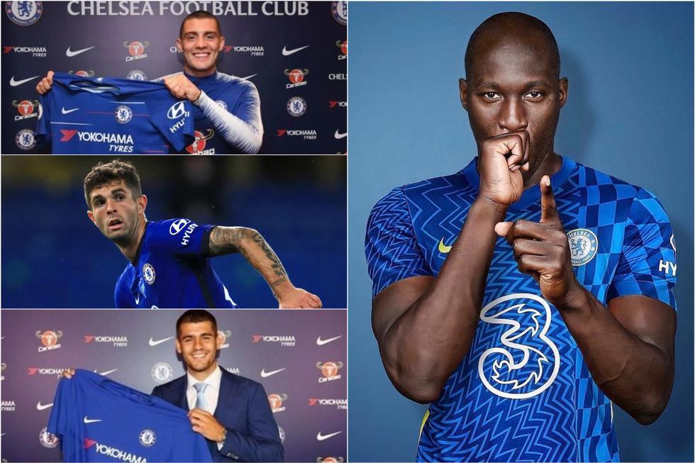 Los 10 fichajes más caros en la historia del Chelsea.