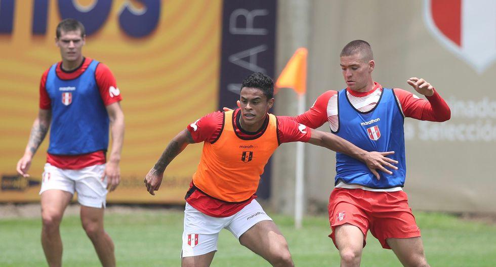 Christopher Olivares anunció que la Sub-23 tendrá amistoso ante Cantolao. (Foto: Selección Peruana)