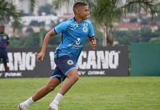 Kevin Quevedo debutó oficialmente con Goiás en el Brasileirao 2020