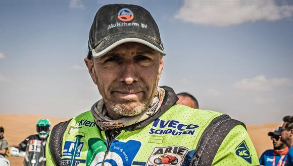Edwin Straver, el piloto holandés de 48 años, predió la vida, víctima de un accidente en el Rally Dakar. (Foto: Dakar)