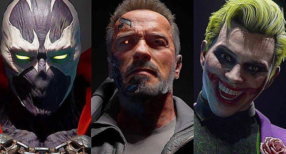 Nuevos personajes de Mortal Kombat 11