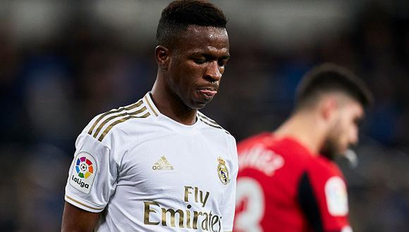Vinicius Junior tiene contrato en Real Madrid hasta mediados de 2025. (Foto: Getty Images)