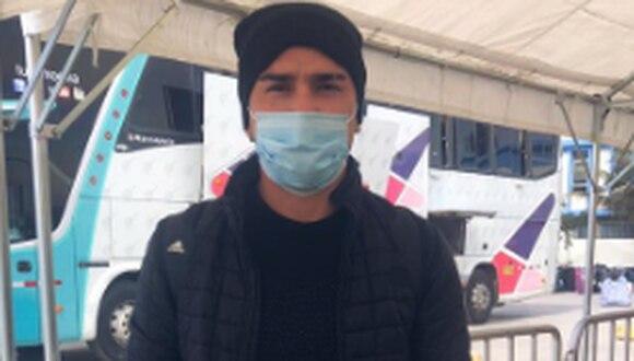 Joao Ortiz llegó desde Chile este sábado. (Prensa Sport Boys)