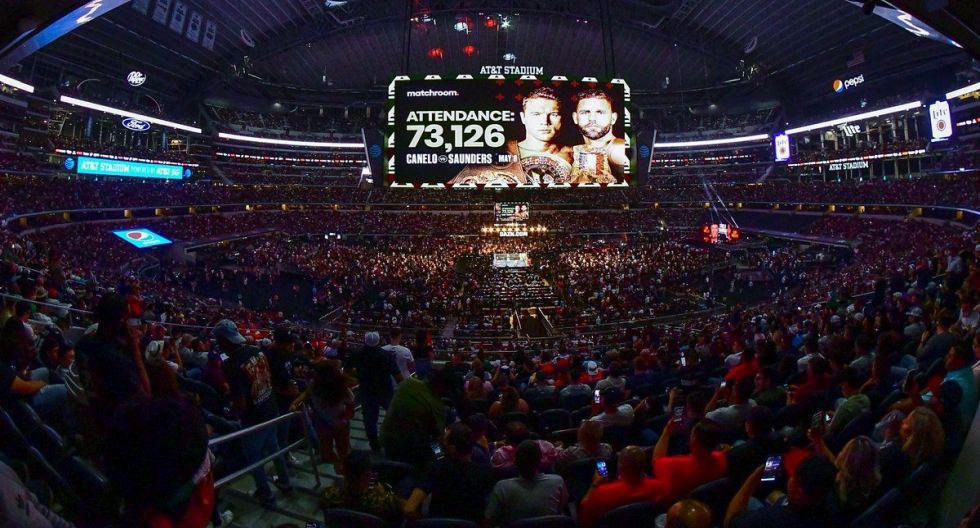 Más de 73 mil personas presenciaron la pelea de 'Canelo' Álvarez versus Saunders. (Foto: ESPN)