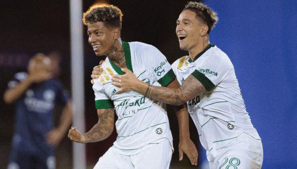 Andy Polo compite por el mejor gol de la 'MLS is back'. (Foto: Portland Timbers)
