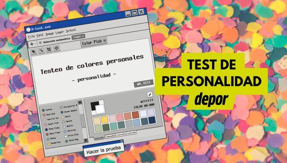 Un test de personalidad basado en colores causa furor entre los usuarios de TikTok. | Crédito: ktestone.com / Composición