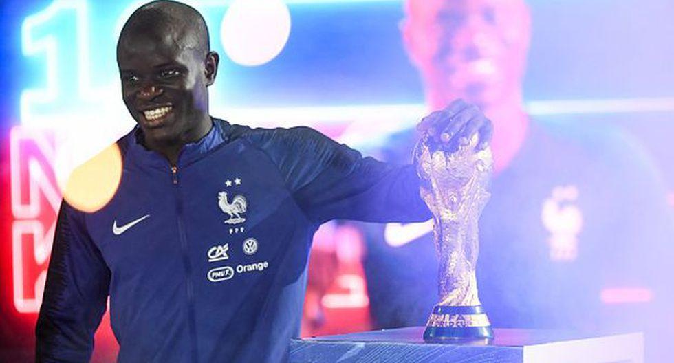 N'Golo Kanté es habitual titular en el Chelsea de Maurizio Sarri. (Foto: Getty Images)