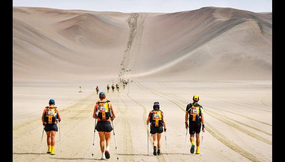La Half Marathon de Sables se realizará en el desierto de Ica. (Foto: Agencias)