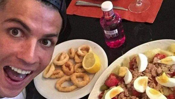 Cristiano Ronaldo lleva una exigente dieta de seis comidas al día.