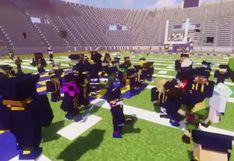 Estudiantes universitarios se gradúan gracias a ceremonia en Minecraft