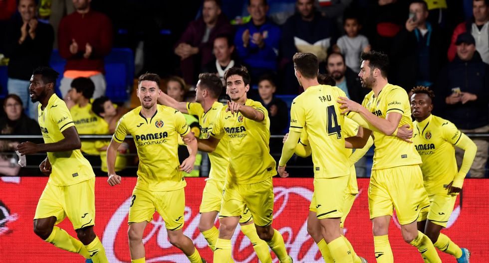 Villarreal de España. (Photo by JOSE JORDAN / STR / AFP)