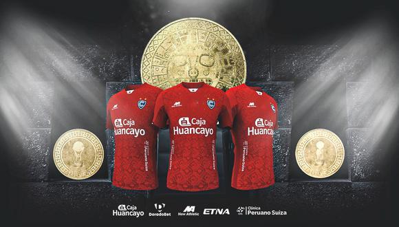 Cienciano lanzó su camiseta para la temporada 2021. (Foto: difusión)