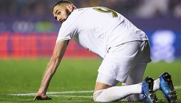 Karim Benzema extendió contrato con el Real Madrid hasta el 2022. (Getty Images)
