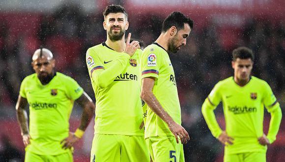 Barcelona empató con el Athletic Club el último domingo. (Foto: Getty Images)