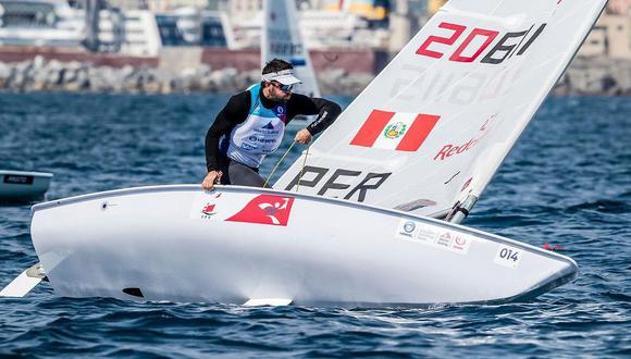 Stefano Peschiera no pudo ganar una medalla en los Panamericanos, pero terminó en el puesto 14 del ranking mundial. (Foto: Sailing Enegery)