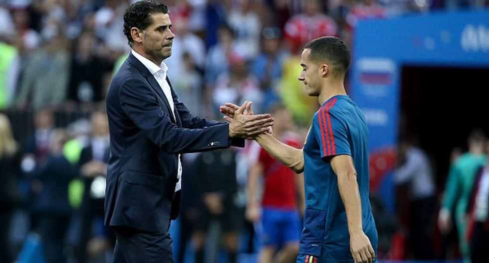 Ferando Hierro llegó a la Selección de España tras la destitución de Julen Lopetegui. (Getty)