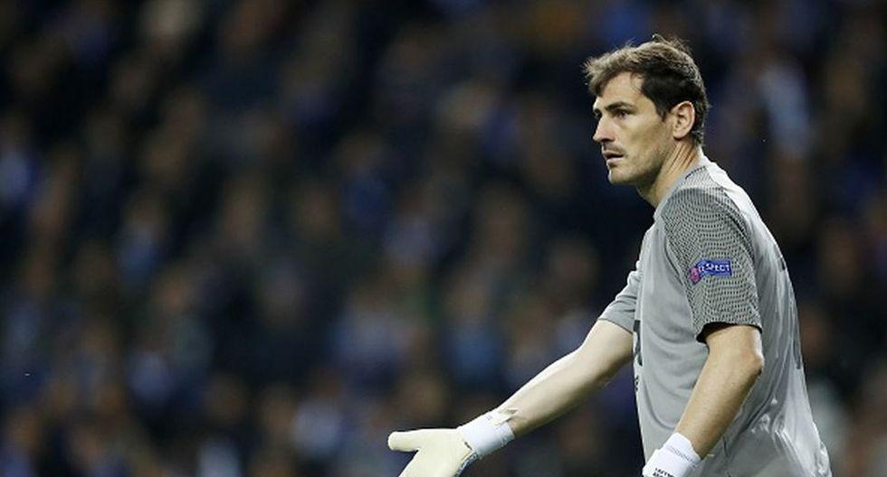 Iker Casillas llegó al Madrid en la temporada 2015/16. (Getty)