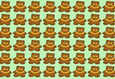 El 95% no halló la solución: encuentra al oso diferente en el siguiente acertijo visual