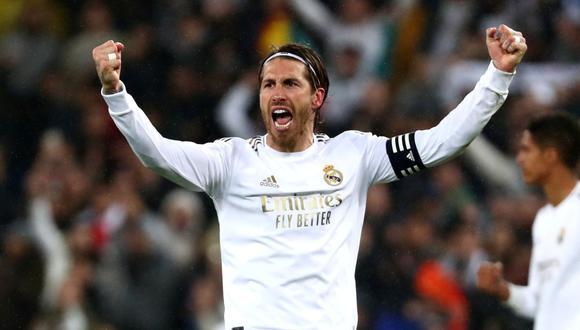 Sergio Ramos ha ganado cuatro Champions League con la camiseta del Real Madrid. (Foto: Getty)