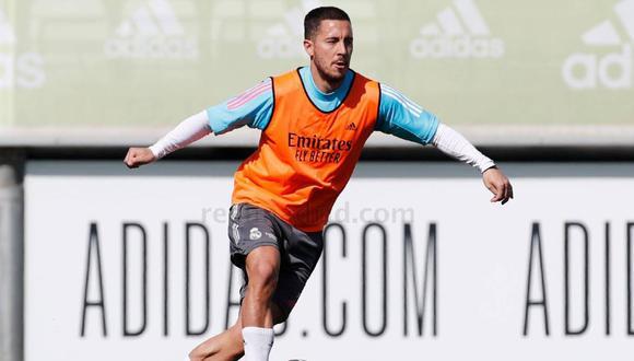 Eden Hazard quedó fuera de la lista de convocados para el Clásico. (Foto: Real Madrid)