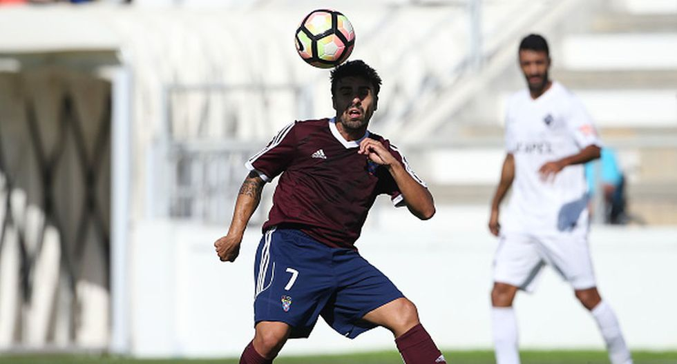 Jugador: André Carvalhas / Club: Cova da Piedade. (Getty)