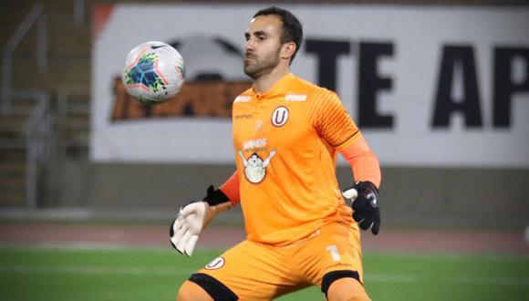 José Carvallo ha recibido seis goles en las dos primeras fechas de la Copa Libertadores. (Foto: Liga 1)