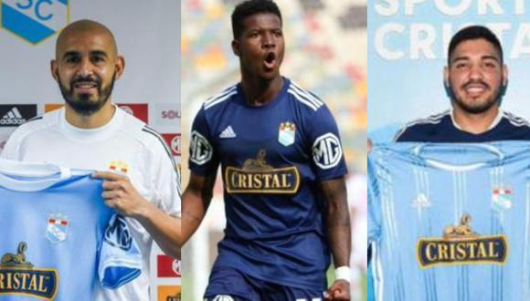 Sporting Cristal a la espera del debut de tres de sus jugadores. (Foto: prensa SC / Liga 1)