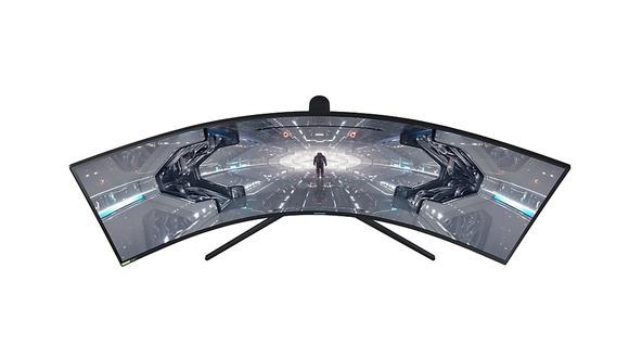 Conoce todos los detalles y características del nuevo monitor curvo Samsung Odyssey G9. (Foto: Samsung)