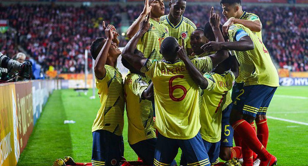 ¡La fiesta es sudamericana! Colombia venció a la local Polonia en el debut del Mundial Sub 20. (Getty)