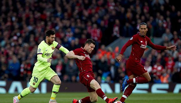 Barcelona perdió 4-0 ante Liverpool en la vuelta de las semifinales de la Champions League 2019. (Getty)