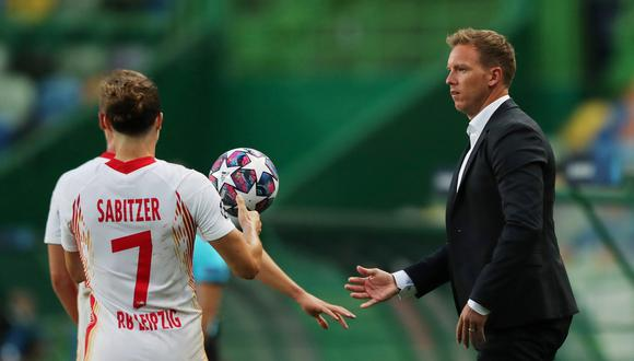 Nagelsmann dirige el RB Leipzig desde la temporada 2019. (Foto: AFP)