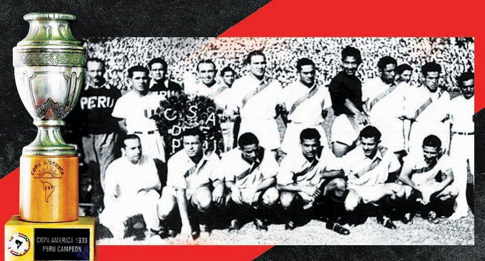 La Selección Peruana ganó sus cuatro partidos en la Copa América de 1939. (Diseño: Angela Peña)