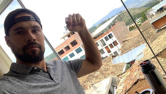 Mario Ovando llegó para defender los colores del Llacuabamba. (Foto: Instagram)