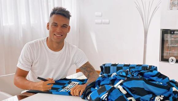 Lautaro Martínez llegó al Inter de Milán en 2018 desde el Racing Club argentino. (Getty)