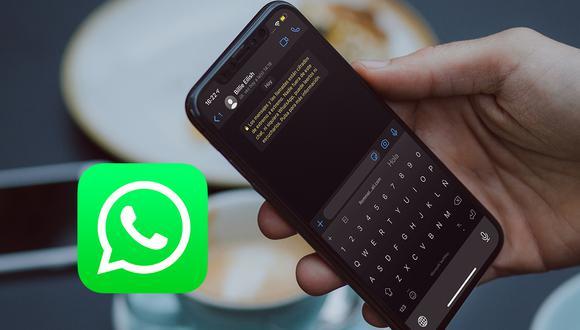 Así puedes cambiar el color del teclado de WhatsApp a negro. ¿Cómo? Realiza estos pasos. (Foto: Mockup)