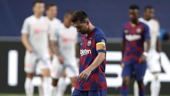 Lionel Messi no tiene claro que continuará en el Barcelona (Foto: AFP)