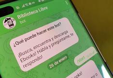 Conoce los mejores bots de Telegram para leer libros